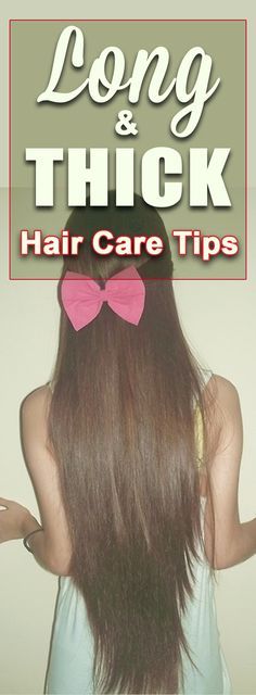 Check out our guide to long and beautiful hair!