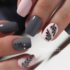 gel-nails-trends-nails-art-2018-diy%2B%252831%2529 Trendy gel nail 2018 - best Instagram nail art Nail Art Trendy Gel Nail 2018