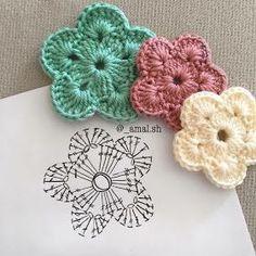 Letras e Artes da Lalá: Quadradinhos de crochê/squares (fotos: google)