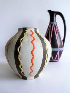Bodo, Keramik Vase, Vintage Vases, Etsy, Designer, Home Decor, Pottery, Vintage Gifts, Craft Gifts