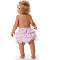 Bunny Bow Bloomers by Mud Pie