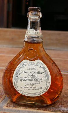Johnnie Walker Swing Blended Scotch Whisky. Whiskey Brands, Cigars And Whiskey, Scotch Whiskey, Bourbon Whiskey, Bourbon Drinks, Vodka, Tequila, Alcohol Bottles, Liquor Bottles