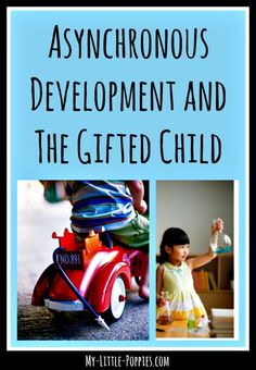 Asynchronous Development and The Gifted Child | My Little Poppies  One of the…