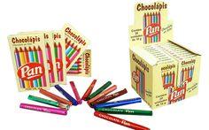 Lápis de Cor de Chocolate