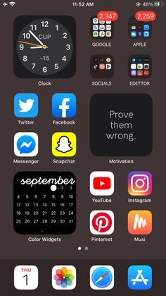 Iphone Home Screen Layout, Iphone App Layout, Organize Apps On Iphone, Estilo Converse, Whats On My Iphone, Apps For Teens, Wallpaper Iphone Neon, Iphone Design, Phone Hacks