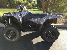 New 2016 Suzuki KingQuad 750AXi Camo ATVs For Sale in Florida. 2016 Suzuki KingQuad 750AXi Camo, 2016 Suzuki KingQuad 750AXi Camo Trusted. Rugged. Reliable. Three decades of ATV manufacturing experience has led to the KingQuad 750 AXi Camo, Suzuki s most powerful and technologically advanced ATV. Abundant torque developed by the 722cc fuel-injected engine gives the KingQuad the get up and go that s a must-have for Utility Sport ATVs. With an independent rear suspension, locking front…