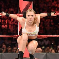 """""""It does not matter how tight you hold onto that title. Because at it's mine. Ronda Rousey Wwe, Ronda Jean Rousey, Rhonda Rousy, Rowdy Ronda, Catch, Ufc Women, Wwe Female Wrestlers, Wrestling Divas, Wwe Womens"""