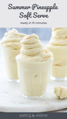 Frozen Desserts, Frozen Treats, Healthy Desserts, Whole Food Recipes, Dessert Recipes, Paleo Dessert, Sweet Recipes, Granita, Mantecaditos
