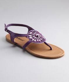 Purple sandal $12.99....cute for bridesmaids.