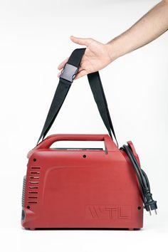 Portable welding machine | Pq design, product design studio Italy