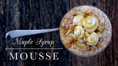 There's some kind of magic that happens when you combine whipped cream and maple syrup. Maple Mousse is the answer. See more at PBS Food.
