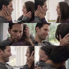 Felt both bad and happy for Scott and Cassie in this scene. Both lost each other for 5 years and didn't know why. Funny Marvel Memes, Dc Memes, Avengers Memes, Marvel E Dc, Marvel Heroes, Marvel Avengers, Wanda Avengers, Marvel Gems, Baby Avengers