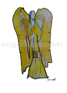 Bild in Acrylfarben gemalt, Unikat, ca 21 x 29,7, teilweise mit Blattgold veredelt, handsigniert. weitere Info´s: engel4you.com Deco, Fictional Characters, Art, Cubism, Gold Leaf, Guardian Angels, Art Background, Kunst, Decor