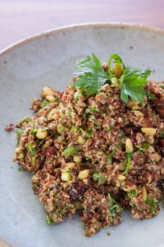 Curried quinoa salad is a quick and easy side dish.