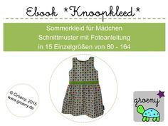 Ebook+*Knoopkleed*+Sommerkleid+Größen+80-164+von+groeny+auf+DaWanda.com