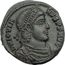 Jovian 363AD Authentic Ancient Roman Coin Wreath of success Very rare i55410 https://trustedmedievalcoins.wordpress.com/2016/05/10/jovian-363ad-authentic-ancient-roman-coin-wreath-of-success-very-rare-i55410/
