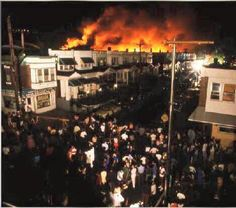 """""""31 years ago on this day, the City of Philadelphia, under the leadership of then Mayor #WilsonGoode, dropped a bomb on the #MOVE family home killing 11 people including 5 children and leveling the entire block.  Yes, a real bomb was dropped on Black folks in the city of Philadelphia.   #NeverForget #FreeTheMove9 #Terrorism.""""  - Lumumba Bandele"""
