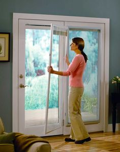 odl addon blinds for doors flush frame