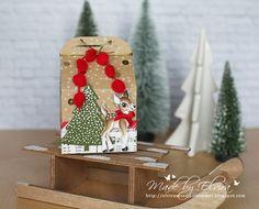 Leckereinbox von Stampin Up, Weihnachtliche Verpackung