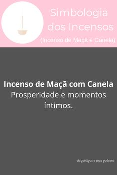 Incenso de Maçã e Canela Sweet Words, Reiki, Witch, Knowledge, Positivity, Celtic, Natural, Garden, Anime