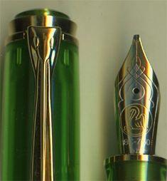 Pelikan M800 Green Demonstrator Limited Edition Fountain Pen