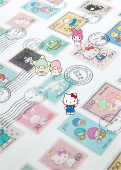 sanrio License masking tape サンリオシリーズ マスキングテープ