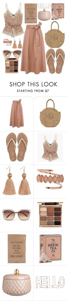 """""""Untitled #577"""" by mydntkrl ❤ liked on Polyvore featuring TIBI, M&Co, Paige Denim, Luv Aj, Chloé, Stila, Taschen, H&M and Graham & Brown"""