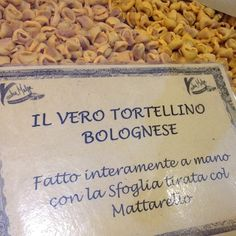 The real tortellino bolognese | #foodiaryER - @Chris Osburn in EmiliaRomagna