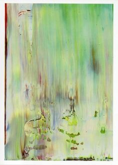 Gerhard Richter Abstract | Gerhard Richter - Abstract #9