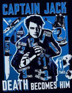It's time to pay tribute to Captain Jack Harkness - and the many different ways he's come to a sticky end