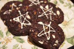 Sjokoladecookies med aprikos #apricot #cookies #kjeks #chocolate