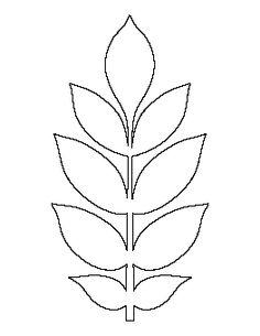 Ash Leaf Pattern