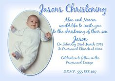 Baptism Invitation : Baptismal Invitation   Free Invitation For You   Free  Invitation For You