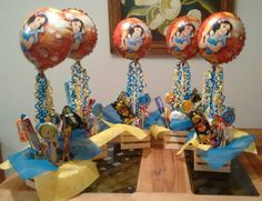 Centros de mesa blanca nieves Girl Birthday, Birthday Parties, Snow White Birthday, Ideas Para Fiestas, First Birthdays, 1, Party Ideas, Snow White, Ideas