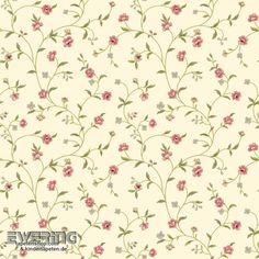 Rasch Textil Waverly Small Prints 23-326665 Landhaus-Tapete beige