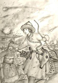 Nalan Gurun-i Gungju of Jusen Gurun (Jurchen) by Gambargin on DeviantArt