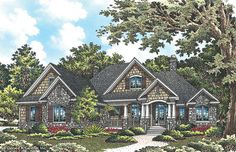 House Plan The Wilkerson by Donald A. Gardner Architects