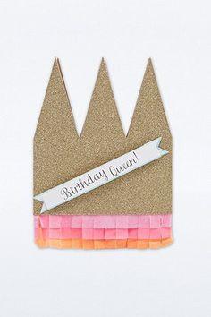 Carte Birthday Queen