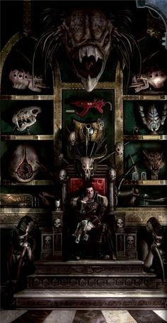 Warhammer Database — curse-your-gods-and-die: I've decided to become. Warhammer Fantasy, Warhammer 40k Memes, Warhammer Art, Warhammer 40000, Space Fantasy, Fantasy Art, Battlefleet Gothic, Tyranids, To Infinity And Beyond