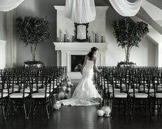 Beautiful! Sleepy Ridge Weddings Sleepy Ridge Wedding Reception Venue Utah  our amazing Sunset room with beautiful Twinkle lights in the trees, draped sashes from the chandelier and grand fireplace  For More Information on our venue go to http://www.sleepyridgeweddings.com