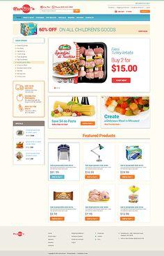 OsCommerce 2.3 Theme #48896