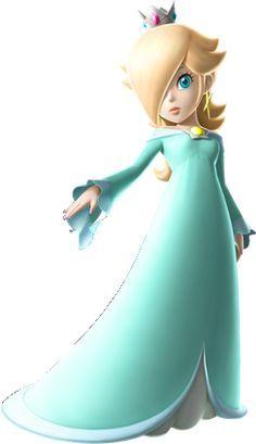 Rosalina (Super Mario Galaxy) she is my favorite character Super Mario Party, Super Mario World, Mario Kart, Mario Bros., Nintendo Characters, Video Game Characters, Super Mario Brothers, Super Mario Bros, Metroid