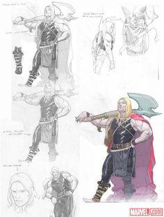 Thor Concept Design - Esad Ribic