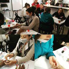 Momentos en las clases de uñas en nuestra escuela #solecester #maquillaje #profesionalmakeup #uñas