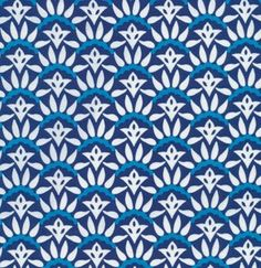 Darjeeling by Rosanna Bowles   Solaris in Blue and White