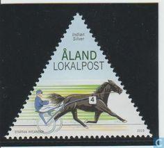 Postzegels - Aland [ALA] - Indian Silver