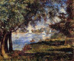 1888 - Bougival - Pierre-Auguste Renoir