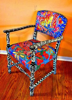 Functional Fictional Fabulous Art Chair to by TheImpossibleChild