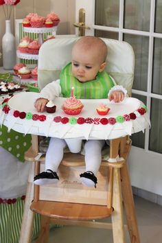 Leah's first birthday party-Strawberry shortcake themed