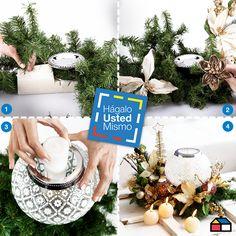 Centro de mesa #Navidad #HagaloUstedMismo